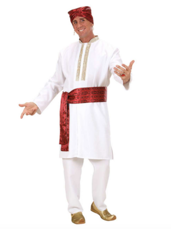 Bollywood kostume til voksne 335x450 - Bollywood kostume til voksne