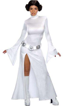 Prinsesse leia kostume 268x450 - Prinsesse Leia kostume til voksne