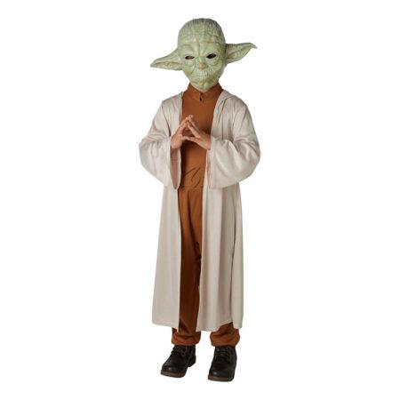 Star wars yoda børnekostume 450x450 - Star Wars - Yoda kostume til børn og voksne