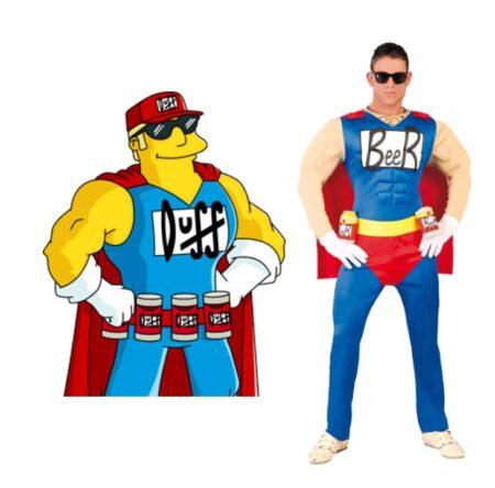 beer man kostume beerman kostume duff beer kostume til vokske ølmand kostume festival kostume karnevalskostume drikkekostume