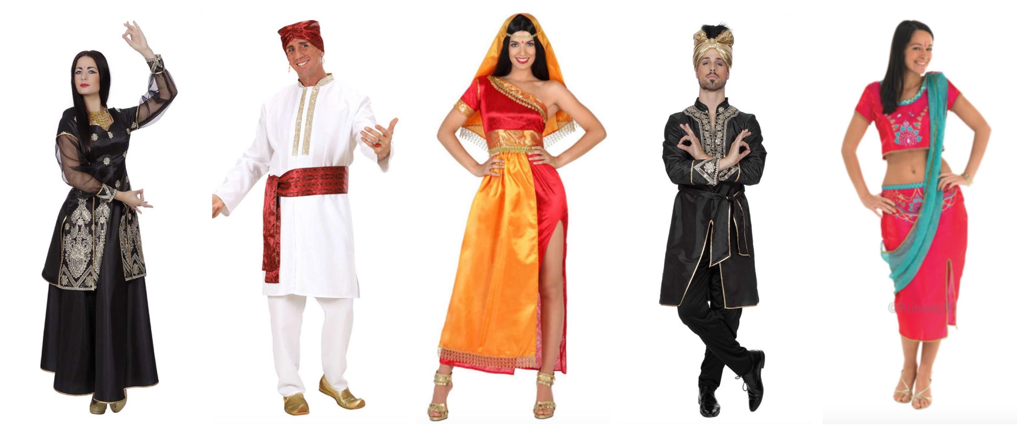 bollywood kostume - Bollywood kostume til voksne