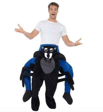 carry me edderkop kostume 414x450 - Insekt kostume til voksne