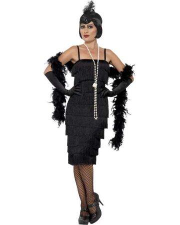 charleston kjole 360x450 - Charleston kostume til voksne