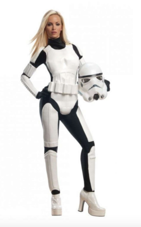 feminint Stormtrooper kostume 280x450 - Stormtrooper kostume til voksne