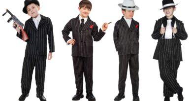gangster kostume til børn, gangster udklædning til børn, gangster kostumer, gangster børnekostume, gangster kostume budget, gangster fastelavnskostume til børn 2020