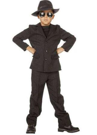 gangsterboss børnekostume 323x450 - Gangster kostume til børn