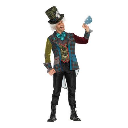 mad hatter batman skurke kostume til voksne