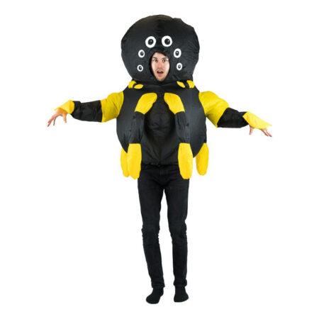 oppustelig edderkop kostume 450x450 - Insekt kostume til voksne