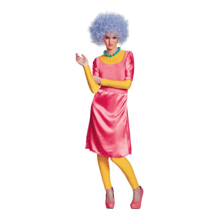patty-bouvier marge søster kostume simpson udklæning 90er fest kostume