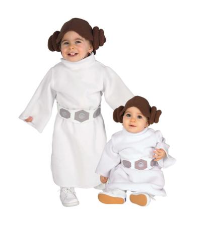 prinsesse leia babykostume 411x450 - Prinsesse Leia kostume til børn og baby