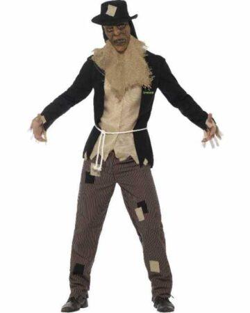 scarecrow kostume goosebumps kostume til voksne batman skurk kostume