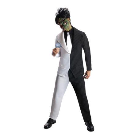 two face kostume til voksne batman skurk arkham skurk two-face kostume til voksne