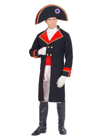 fransk krigsgeneral kostume til voskne fransk temafest kostume
