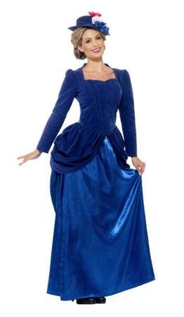 Mary poppins kostume til voksne 262x450 - Mary Poppins kostume til voksne