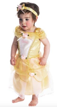 belle baby kostume 242x450 - Disney kostume til baby