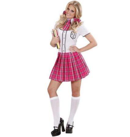 college skolepige kostume 426x450 - Skolepige kostume til voksne