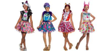 enchantimals børnekostume enchantimal kjole enchantimals udklædning