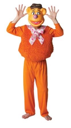 fozzy bear kostume til barn muppet show kostume muppet børnekostume