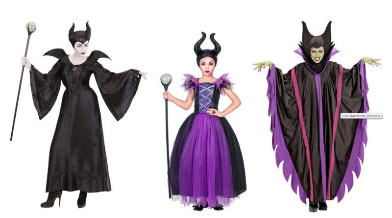 maleficent kostume til børn maleficent kostume til voksne angelina jolie kostume disney heks kostume fe kostume sort halloween kostume