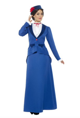 mary poppins kostume 307x450 - Mary Poppins kostume til voksne
