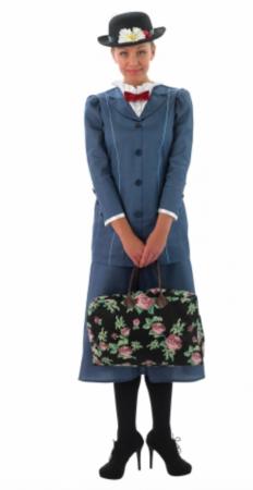 mary poppins udklædning 232x450 - Mary Poppins kostume til voksne