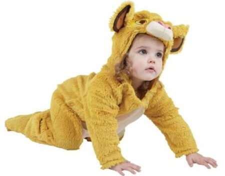 simba baby kostume 450x353 - Disney kostume til baby