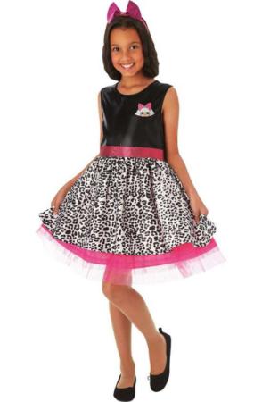 LOL diva kostume L.O.L. surprise Diva udklædning LOL Diva børnekostume LOL fastelavnskostume