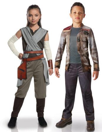 rey og finn star wars børnekostume star wars tvilling kostume