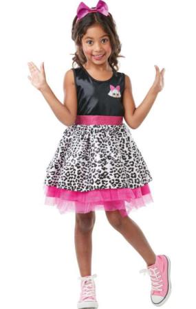 LOL surprise diva kostume LOL udklædning diva kjole til piger