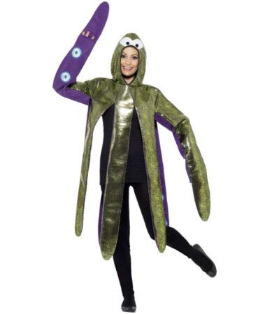skindende blæksprutte kostume til kvinder bllæksprutte udklædning til voksne under havets overflade kostume til voksne