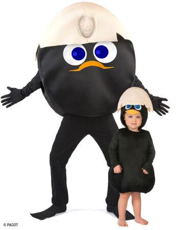 par kostume til forældre og børn calimero kostume far og baby kostume babykostume calimero udklædning calimero fastelavn