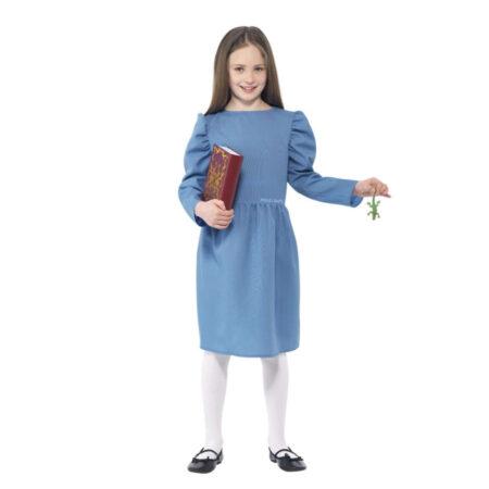 matilda kostume til børn matilda børnekostume matilda netflix udklædning matilda film kostume matilda fastelavnskostume
