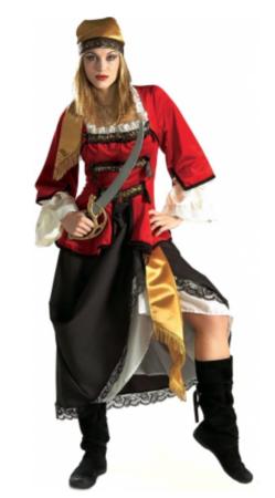 Havets tyv Piratkostume til kvinder 249x450 - Tyveknægt kostume til voksne