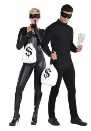 Kostume Sæt Røvere 312x450 - Tyveknægt kostume til voksne