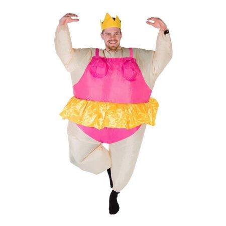 Oppustelig ballerina kostume til voksne polterabende kostume 450x450 - Oppustelige kostumer til voksne