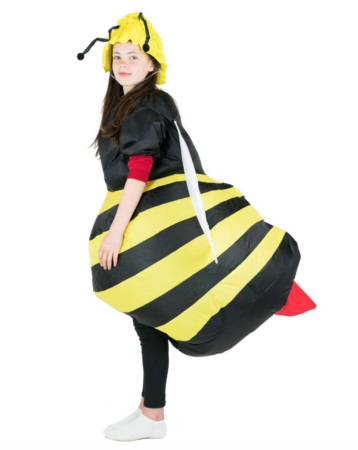 Oppustelig bi kostume 358x450 - Oppustelige kostumer til børn