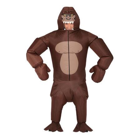 Oppustelig gorilla kostume 450x450 - Oppustelige kostumer til voksne