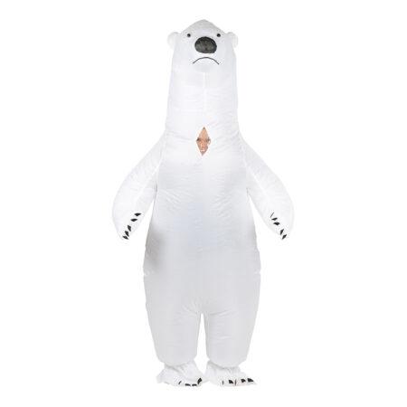 Oppustelig isbjørn voksenkostume 450x450 - Oppustelige kostumer til voksne