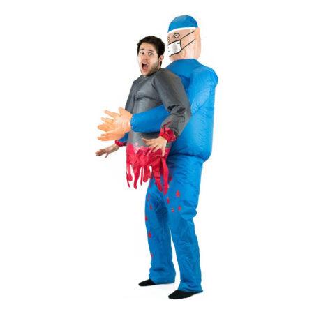 Oppustelig kirurg kostume 450x450 - Oppustelige kostumer til voksne