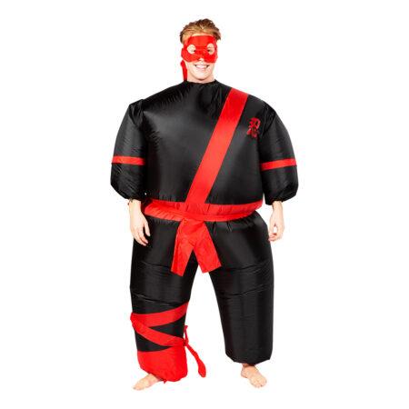 Oppustelig ninja kostume 450x450 - Oppustelige kostumer til voksne