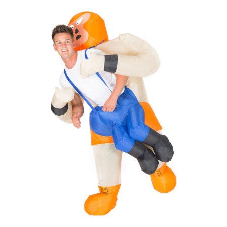 Oppustelig wrestler kostume 450x450 - Oppustelige kostumer til voksne