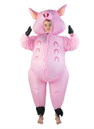 Oppustelige gris kostumer 330x450 - Gris kostume til børn og baby