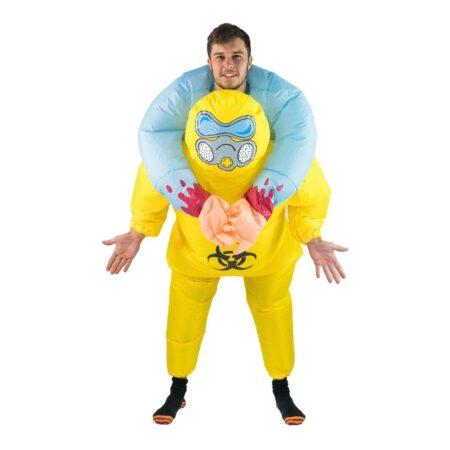 Oppusteligt Biohazard Halloween Kostume  450x450 - Oppustelige kostumer til voksne