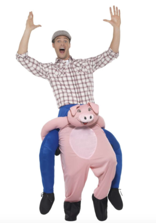 carry me grise kostume 315x450 - Gris kostume til voksne