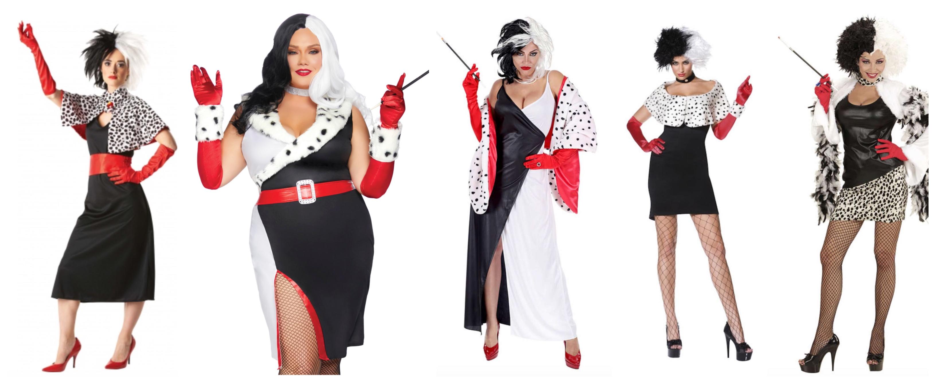 cruella de vil voksenkostume - Cruella de vil kostume til voksne