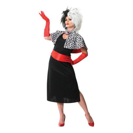disney cruella de vil kostume 450x450 - Cruella de vil kostume til voksne