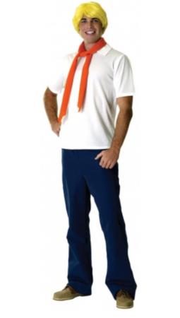 fred scooby doo kostume til voksne