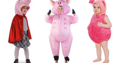 gris kostume til børn 390x205 - Gris kostume til børn og baby