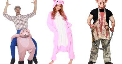gris kostume til voksne, gris udklædning til voksne, gris heldragt til voksne, grise kostumer, gris voksenkostumer, dyrekostumer til voksne, lyserøde kostumer til voksne, halloween kostumer til voksne, gris fastelavnskostume til voksne