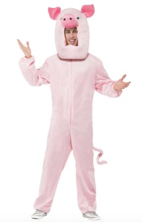 gris voksenkostume 287x450 - Gris kostume til voksne